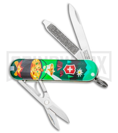 Victorinox Classic SD Mountain Dinner Swiss Army Knife