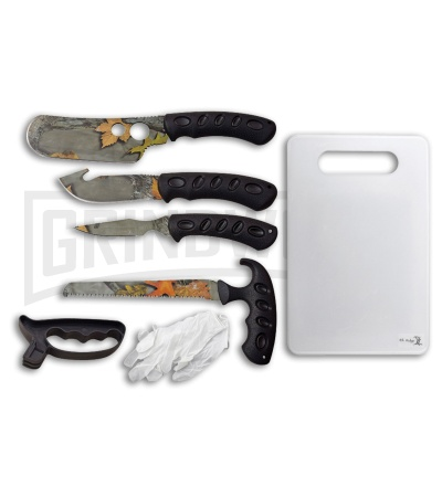 Elk Ridge Game Processing Fixed Blade Hunting Knife Set