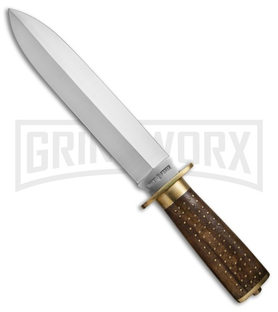 Valley Forge Beaver Tail Fixed Blade Knife - Satin Plain