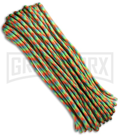 Dragonfly Nylon Braided 550 Cord Paracord (100')