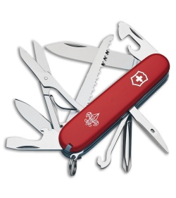 Victorinox  Huntsman Scout Swiss Army Knife - Red