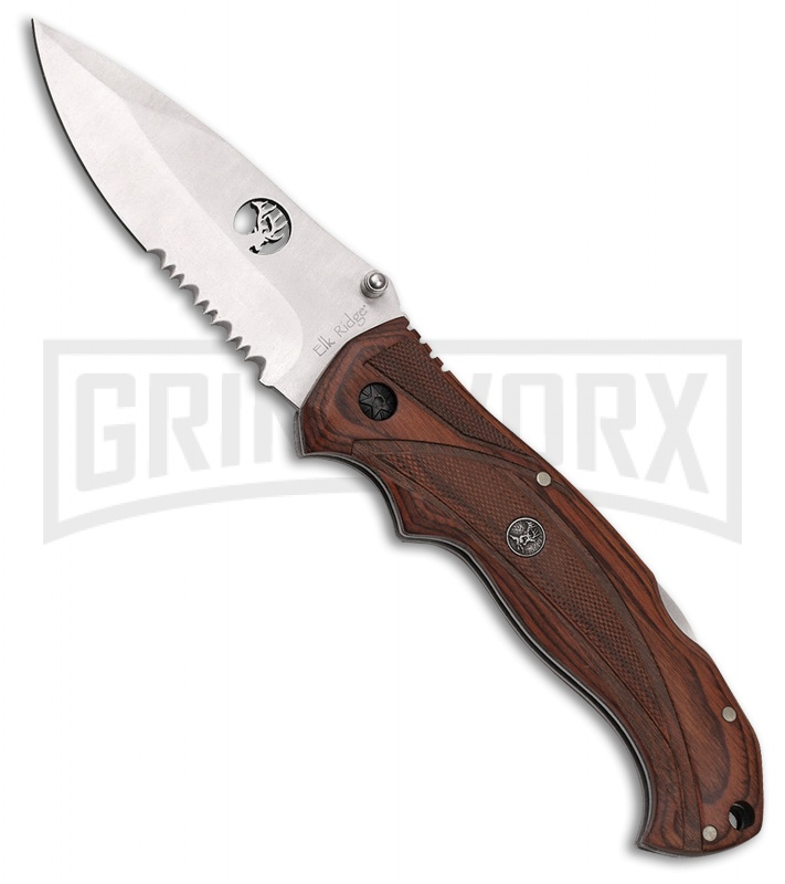 Elk Ridge Retractor Three Piece Exchangeable Manual Folding Knife