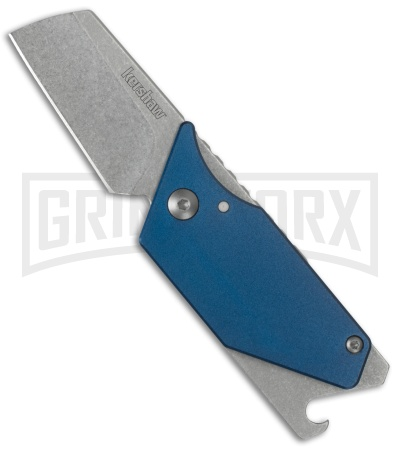 Kershaw Sinkevich Pub Blue Folding Knife Blue - Stonewash Plain