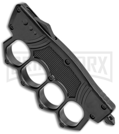 OTF Automatic Knuckle Knife - Tanto Two-Tone