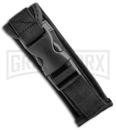 Rumble Black D/A OTF Automatic Knife Tanto Wolf Graphic - Two-Tone Plain