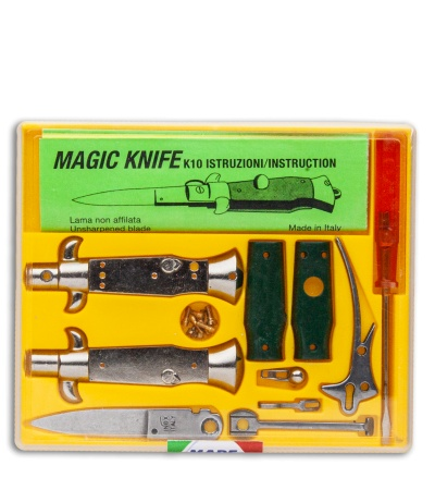 "SKM 4"" Italian Stiletto Keychain Kit Green"