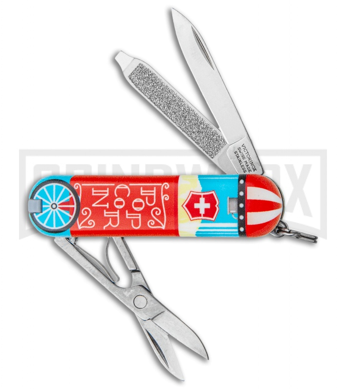 Victorinox Classic Sd Let It Pop Swiss Army Knife Grindworx