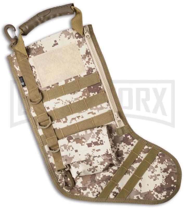 desert digi camo tactical christmas stocking deluxe molle elite version - Camo Christmas Stocking