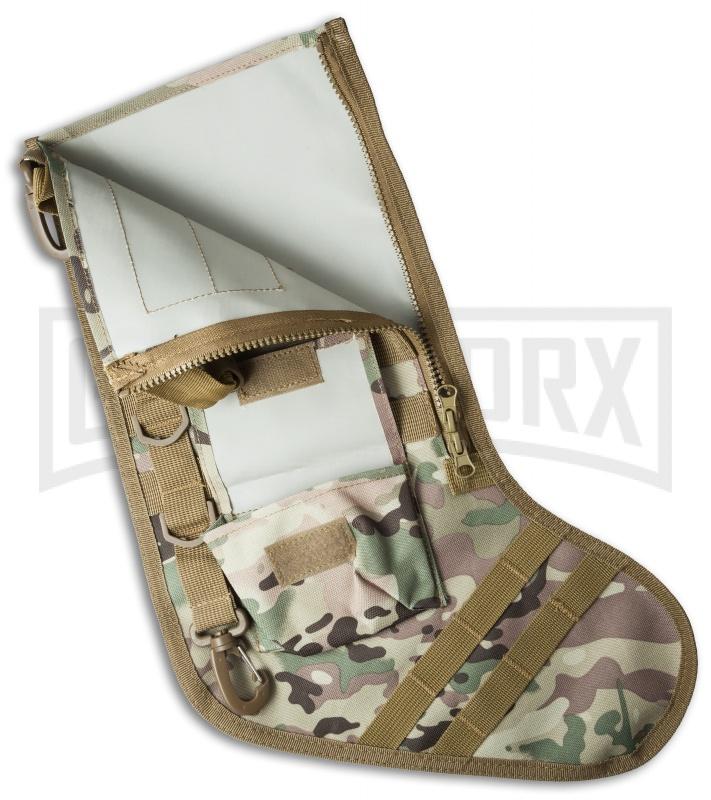 green camo tactical christmas stocking deluxe molle elite version - Camo Christmas Stocking