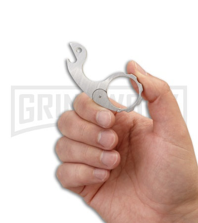 CRKT Snailor 9006 Stainless Steel Keychain Bottle Opener