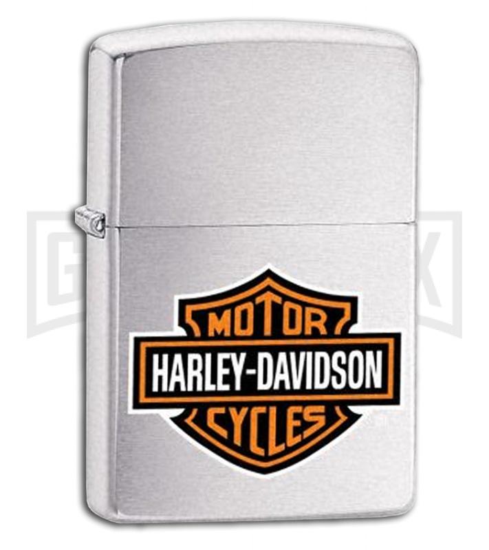 Harley Davidson Bar And Shield >> Zippo Harley Davidson Bar And Shield Lighter