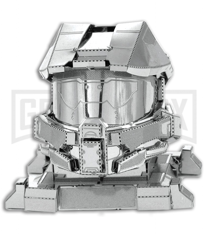Metal Earth Halo Master Chief Helmet 3D Laser Cut Steel Model
