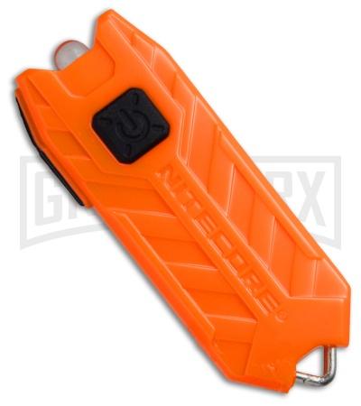 Nitecore Wiederaufladbare Schlüsselleuchte Tube orange 45 Lumen