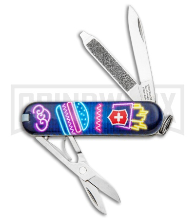 Victorinox Classic SD Burger Bar Swiss Army Knife