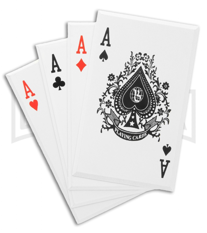 Aces Wild Stainless Steel Throwing Cards Grindworx